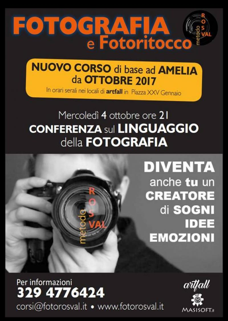 Conferenza sul linguaggio della fotografia
